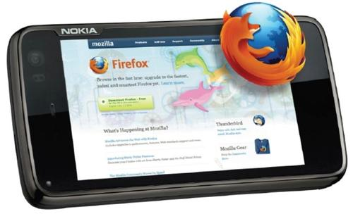 Nokia N900 and FireFox Mobile