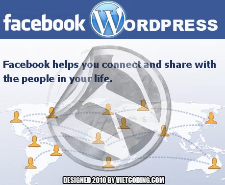 Facebook và WordPress - Một sự liên kết tuyệt vời
