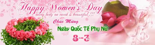 Mừng ngày Quốc tế Phụ nữ 2010