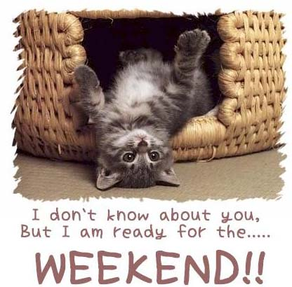 Cuối tuần rồi - Nghỉ ngơi thôi !