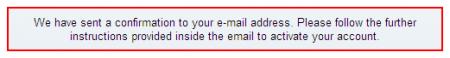 RS yêu cầu kích hoạt tài khoản qua email