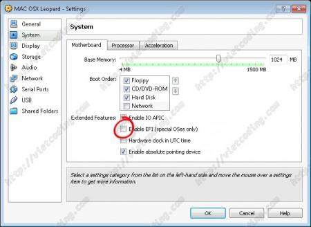 MAC-OSX-01 Disable EFI