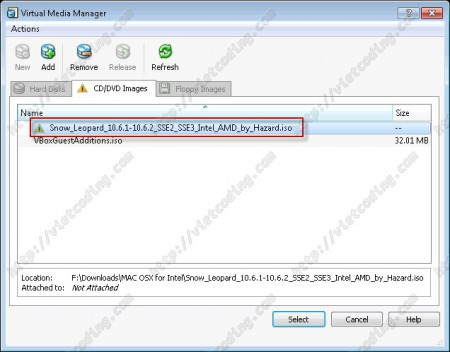 MAC-OSX-03: Virtual Media Manager