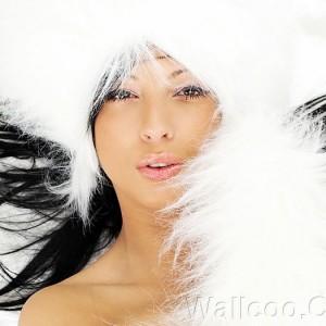 Cô gái trong tuyết
