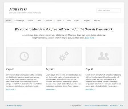 MiniPress Homepage