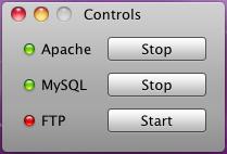 XAMPP Control giúp bạn điều khiển Apache, MySql và FTP dễ dàng