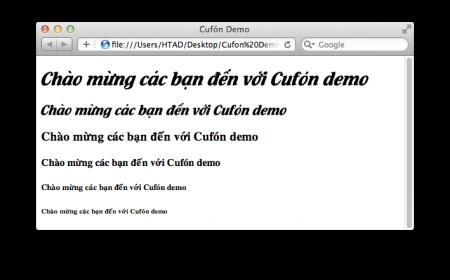Font đã đổi theo UTM-Flamenco