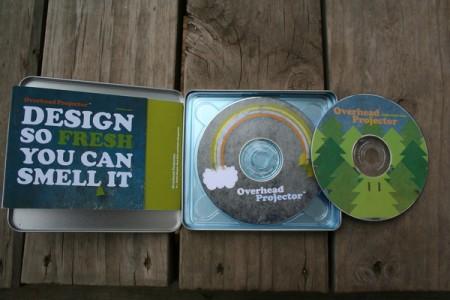 Portfolio số lưu trữ trên CD/DVD