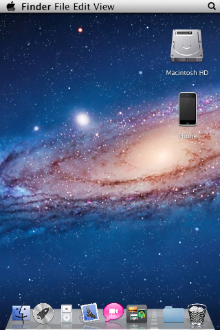 Home Screen giống Decktop Mac Lion