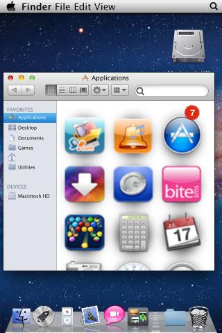 Finder của Mac Lion