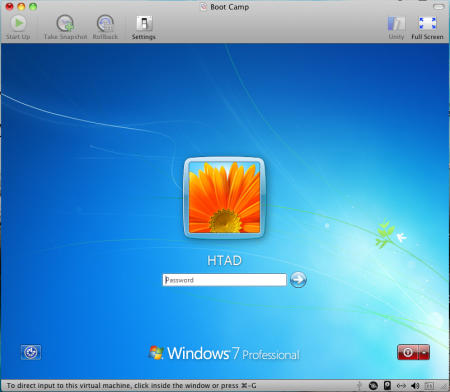 Phân vùng Windows đóng vai trò như một máy ảo