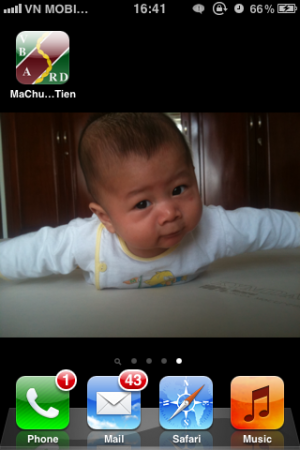 Biểu tượng app trên SpringBoard