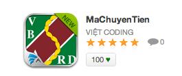 MaChuyenTien tren AppStoreVN [MaChuyenTien]   Tra cứu thông tin mã chuyển tiền các ngân hàng trên iOS, iPhone