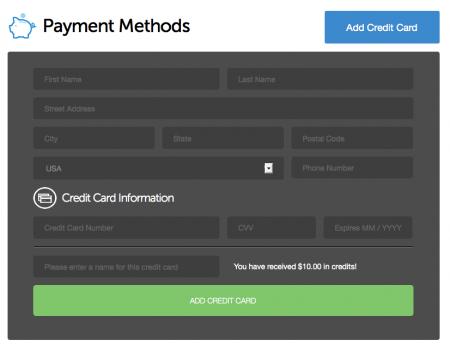 DO CreditCard 450x347 DigitalOcean : VPS với SSD giá hợp lý cho webmasters. Miễn phí 10$ vào tài khoản